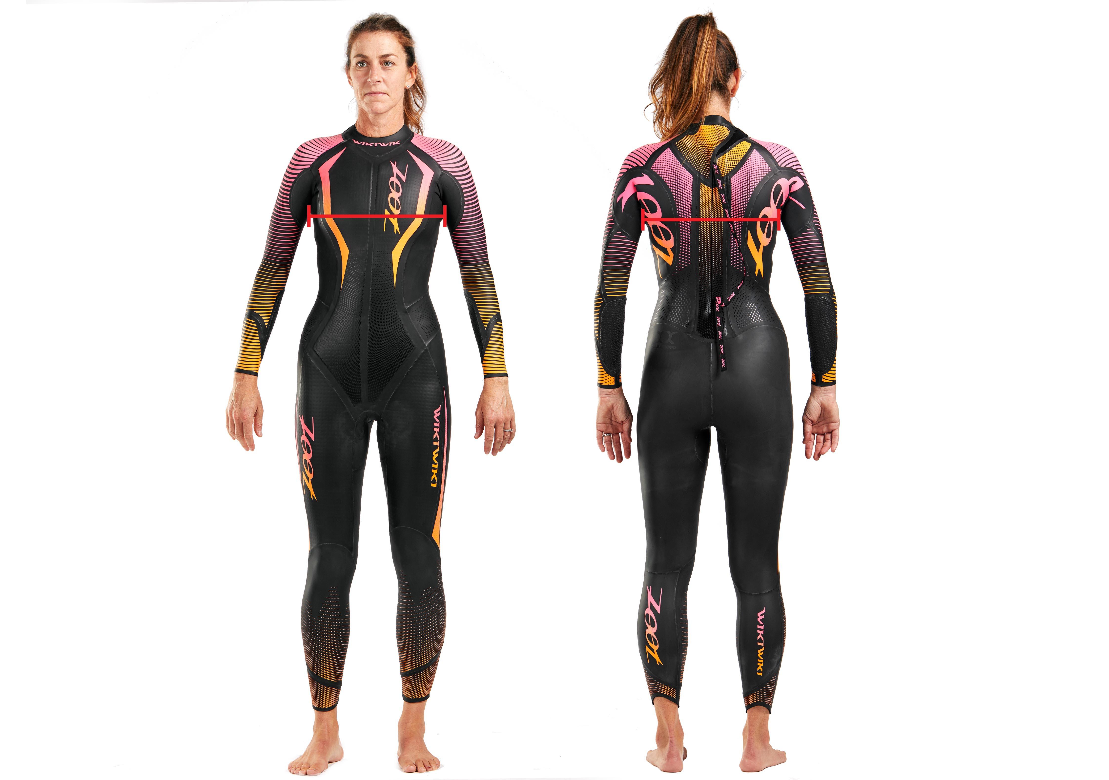 2020 Zoot Sports KONA Women/'s Fullsleeve Triathlon//Swimming  Wetsuit